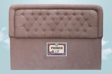 Prince Bed Head (Fabric, Chocolate)