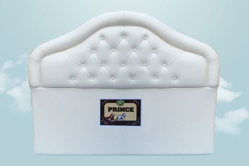Prince Bed Head (PU, Cream)